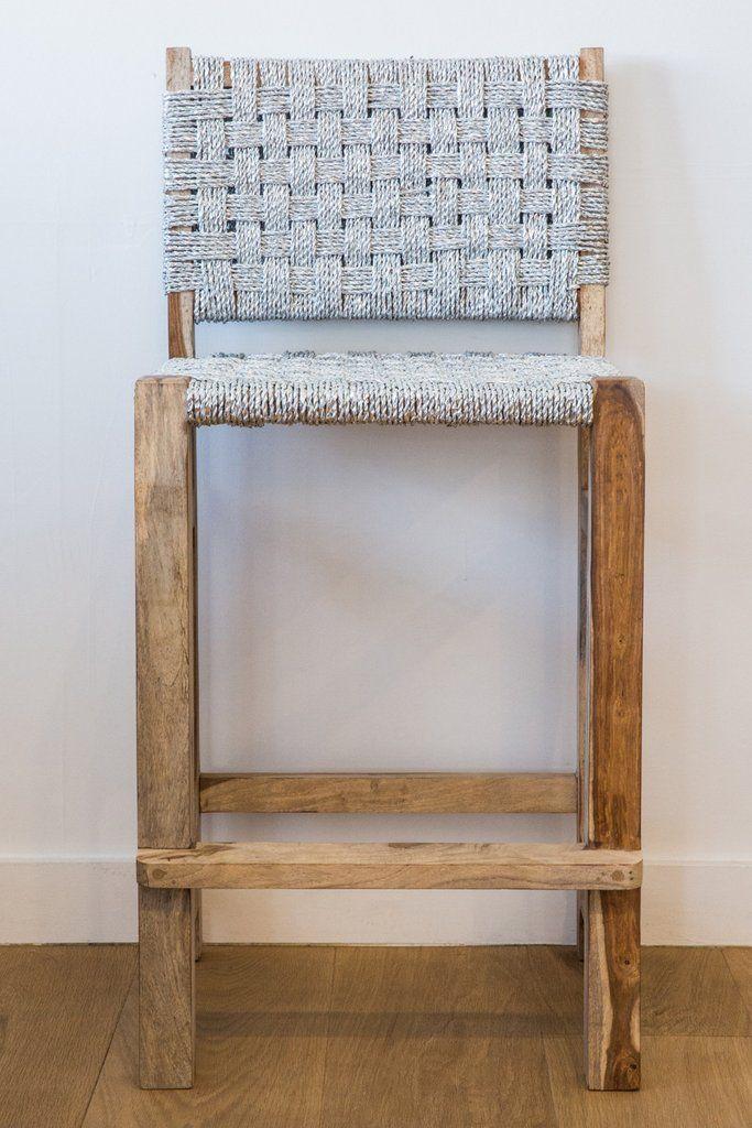 lost & found black bar chair