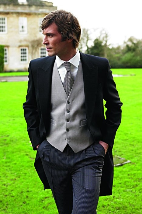 tuxedo...English garden wedding? Please and thank you