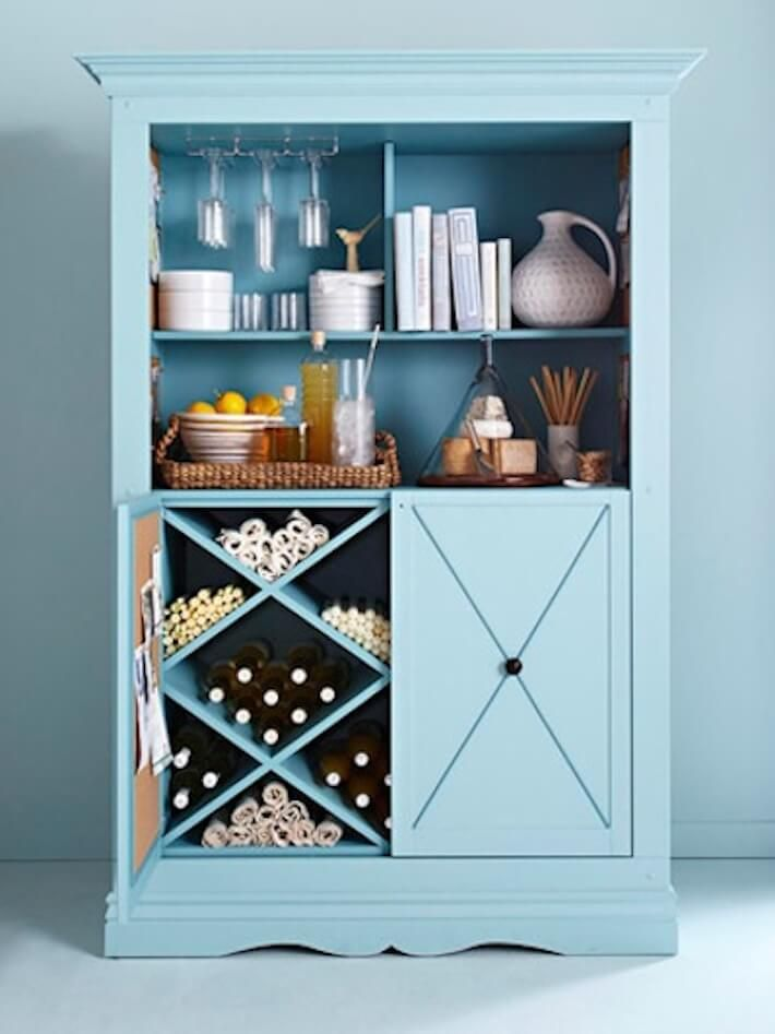 5 New Uses for Old Entertainment Centers
