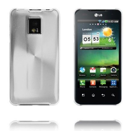 Aluminiums Shield (Rent Metal) LG Optimus 2X P990 Cover