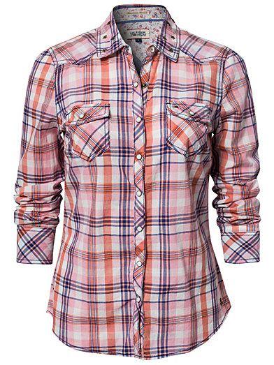 Kaley Shirt - Hilfiger Denim - Multicolor - Paitapuserot & Kauluspaidat - Vaatteet - Nainen - 109,95€