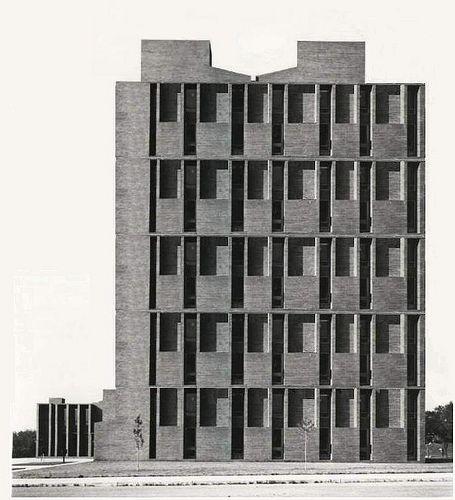 St.Louis  Hotel USA, arch. L. Kahn, 1946