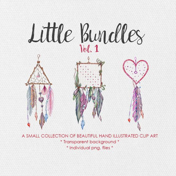 Tribal Clipart  Little Bundles Vol.1  by JessicaOxleyAI on Etsy