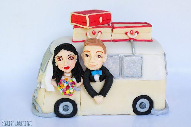 Sekrety Cookietki: Para młoda w volkswagen van