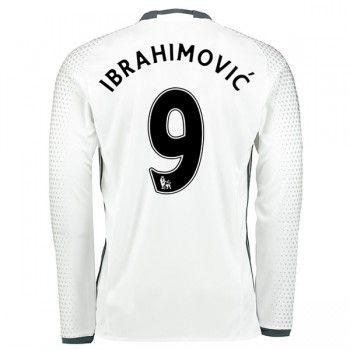 Premier League Fussball Trikots Manchester United 2016-17 Zlatan Ibrahimovic 9 3rd Trikot Langarm