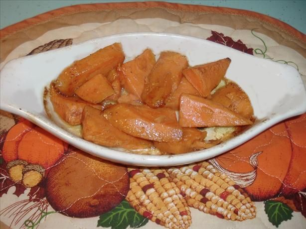 Whisky (Or Bourbon) Baked Sweet Potatoes (Or Yams). Photo by Bergy # ...