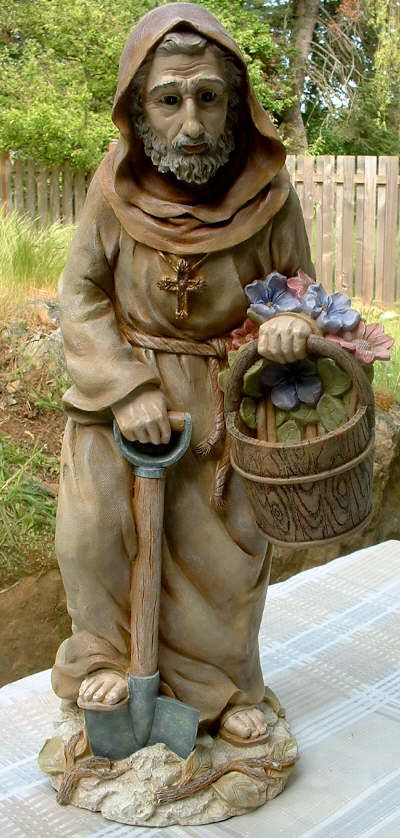 st.fiacre | St. Fiacre is also the patron saint of gardeners.