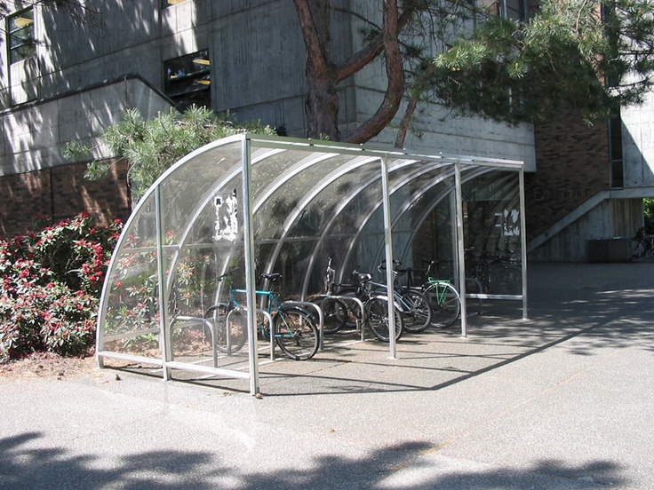 Covered Bike Shelters : Best images about bike storage on pinterest