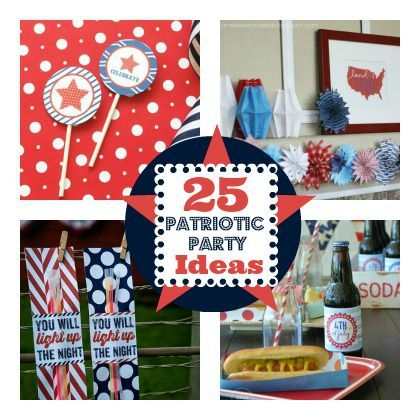 Light Up the Night: 25 Patriotic Party Printables and Ideas