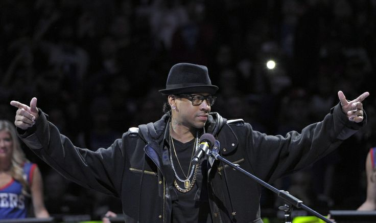 allen iverson | Allen Iverson during his jersey number retirement ceremony. Mandatory ...