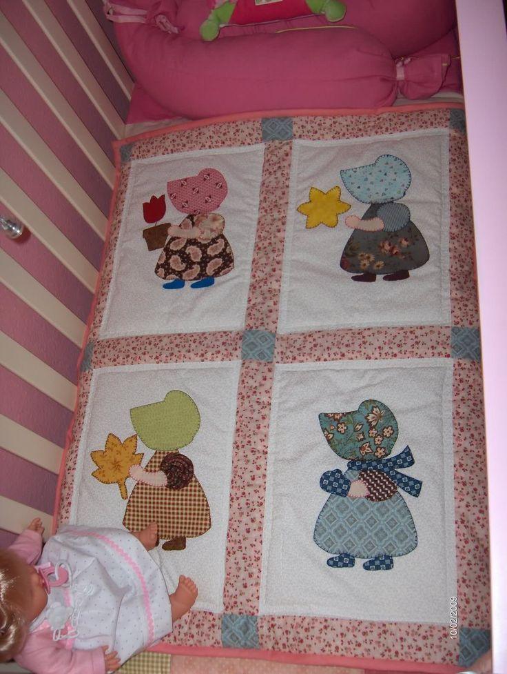 pinterest em patchwork | Patchwork Edredón para cunas.. | Manualidades | Pinterest