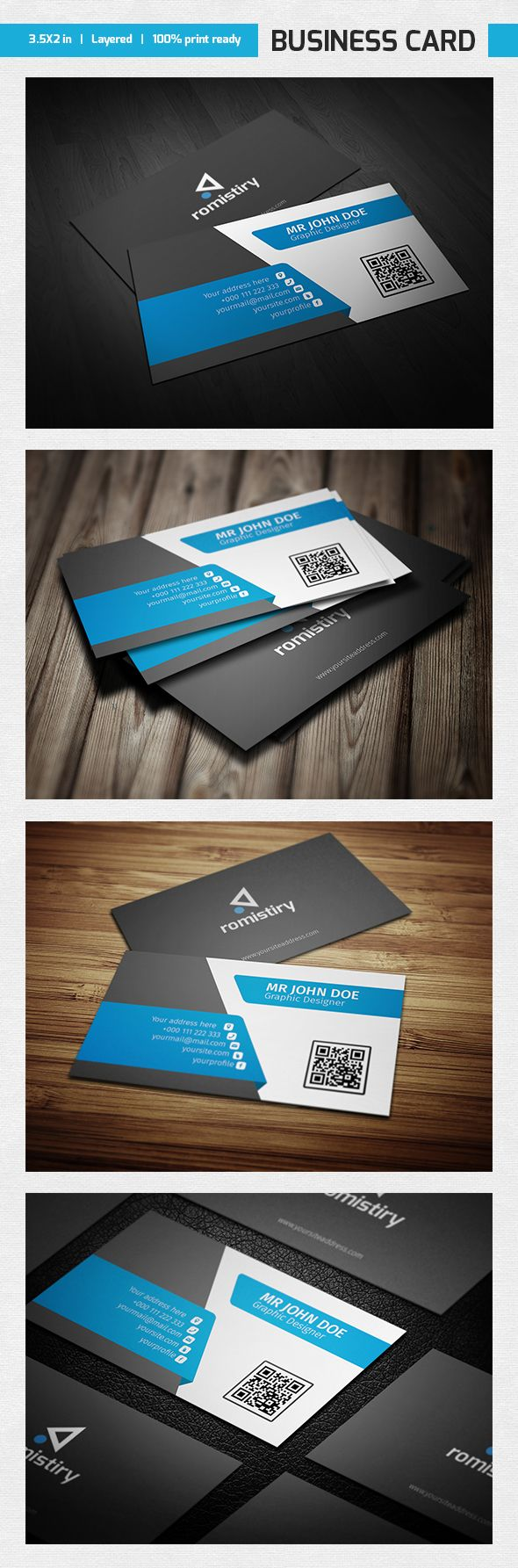 227 best Business Cards images on Pinterest | Carte de visite ...