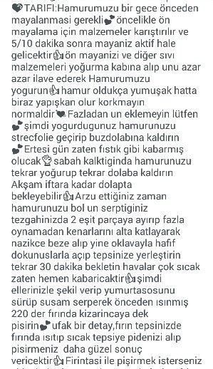 RAMAZAN PİDESİ