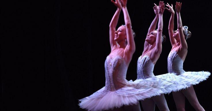 Bailarinas durante ensaio em traje a rigor da produção Lago dos Cisnes do Australian Ballet no Sydney Opera House, em Sydney, Austrália.  Fotografia:  Seed Khan / AFP.  http://noticias.uol.com.br/album/2016/01/06/olho-magico-2016.htm#fotoNavId=pr49018676f67fc1c67681b3972a98720160331