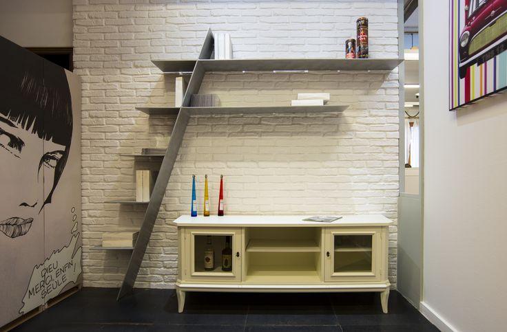 Libreria F0 by Aguzzoli Arredamenti ,libreria in alluminio
