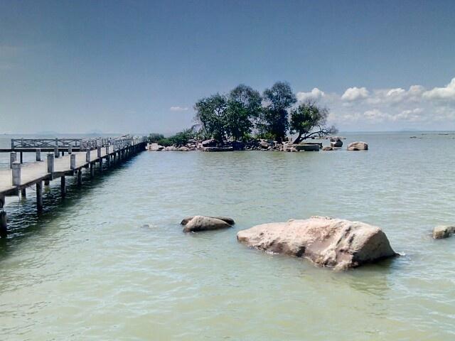 Eksotisme pulau simping