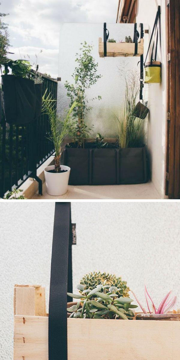 101 Idees Deco Amenagement Pour Un Petit Balcon Petit Balcon Balcon Et Jardin Balcon