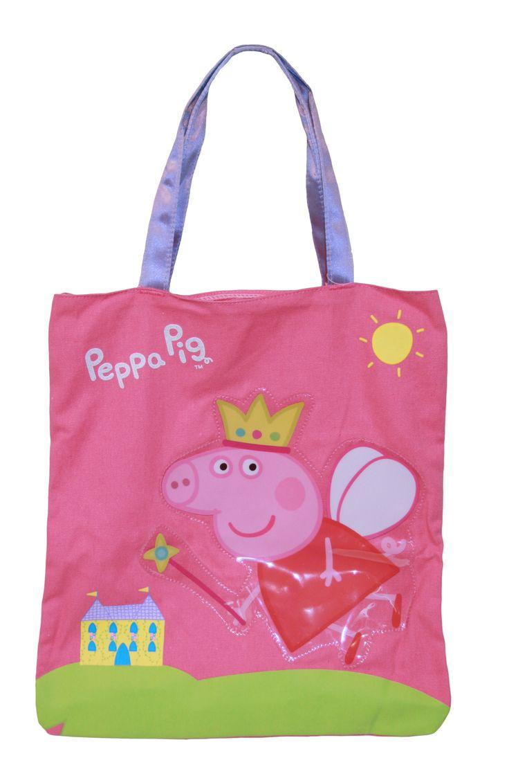 Too cute...Peppa Pig library bag $17.95 BTS2014