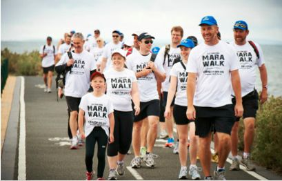 Not long now! We're getting excited for the 2013 Marawalk.
