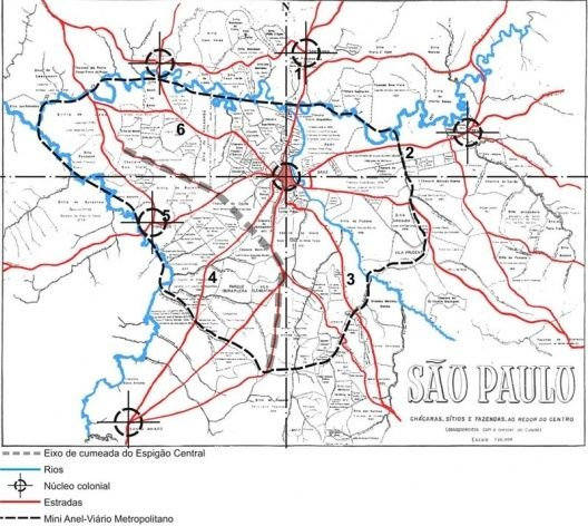 30 best SO PAULO MAPAS images on Pinterest Maps Brazil and Sao
