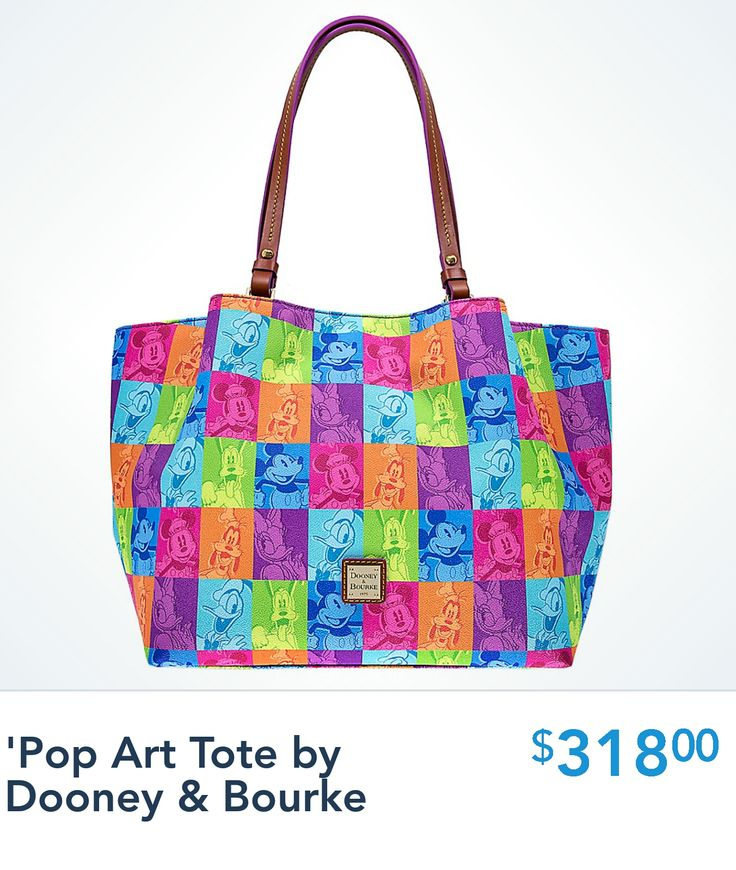 Pop Art Comes Alive With This Vibrant New Dooney And Bourke Print