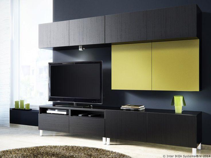 ensemble mural tv ikea stunning best agenc rangt. Black Bedroom Furniture Sets. Home Design Ideas