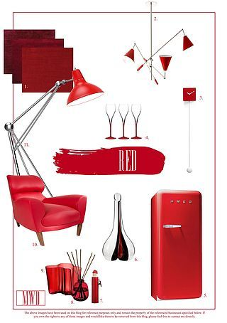 Ravishing Red: Trends for the Home