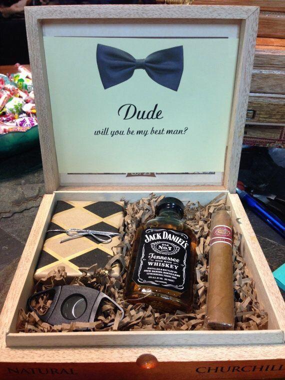 Engraved Groomsmen gift box