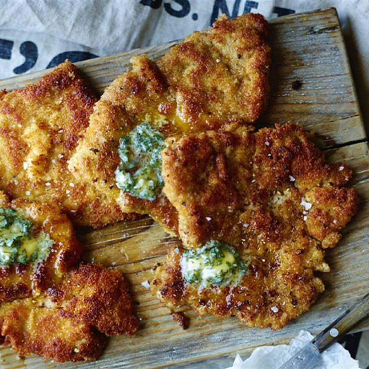 Try this Pork Schnitzel with Sage Butter recipe by Chef Rachel Allen. This recipe is from the show Rachel Allen's Coastal Cooking.