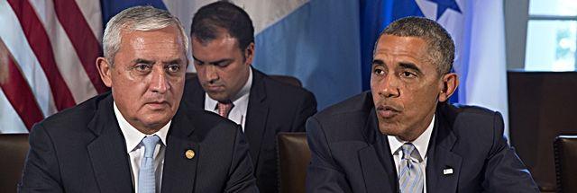 By Marianela Toledo | Florida Watchdog  MIAMI — Guatemalan President Otto Perez Molina says $2 billion in federal aid