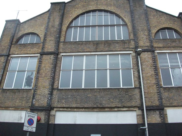 Warehouse at the HMV Music, Vinyl Record Factory in Hayes, Middlesex