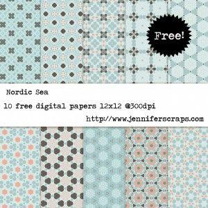 http://www.jenniferscraps.com/category/free-digital-paper/