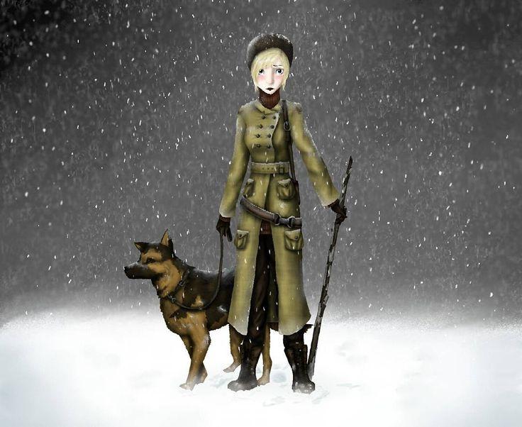 "7 Likes, 1 Comments - Bianca Van Harmelen (@bianca_van_harmelen) on Instagram: ""Caught in a blizzard.  #illustration #doodle #snow"""