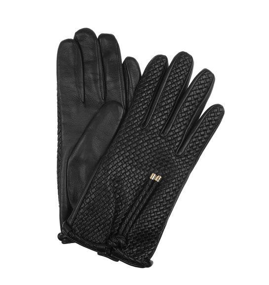 Burberry gants en cuir