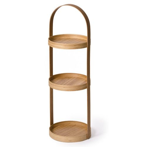 found it at wayfaircouk belinda wood free standing shower caddy bamboo bathroom accessoriesbath - Bamboo Bathroom Set Uk