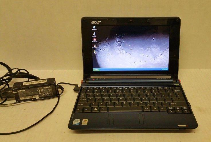 Acer Aspire One ZG5 Intel Atom 1.60GHz CPU N270 Windows XP - Tested