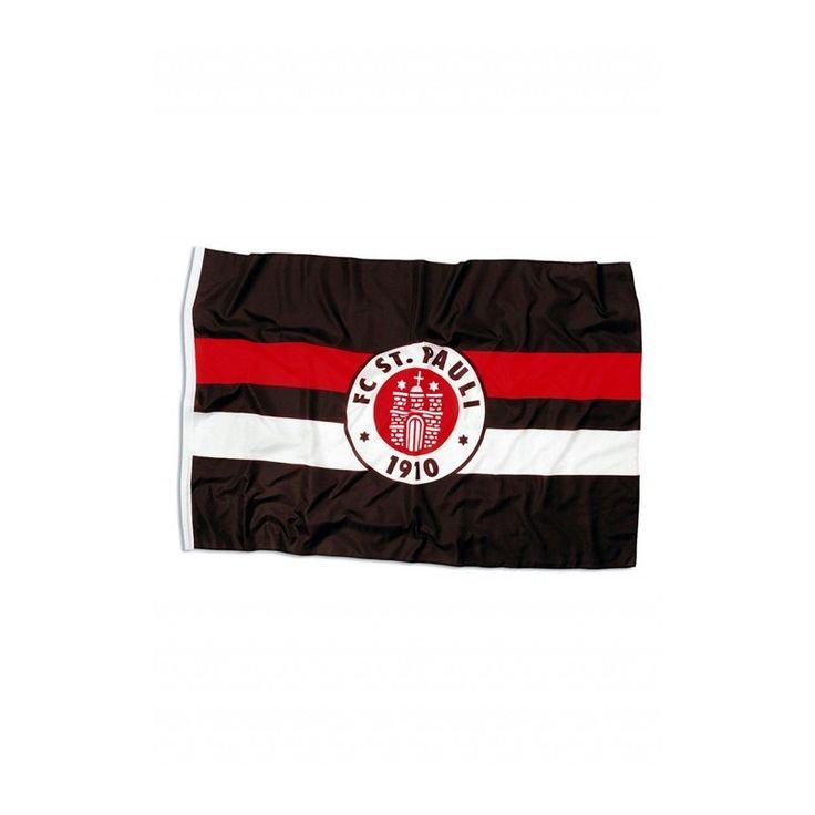 St. Pauli Flag, brown/white/red