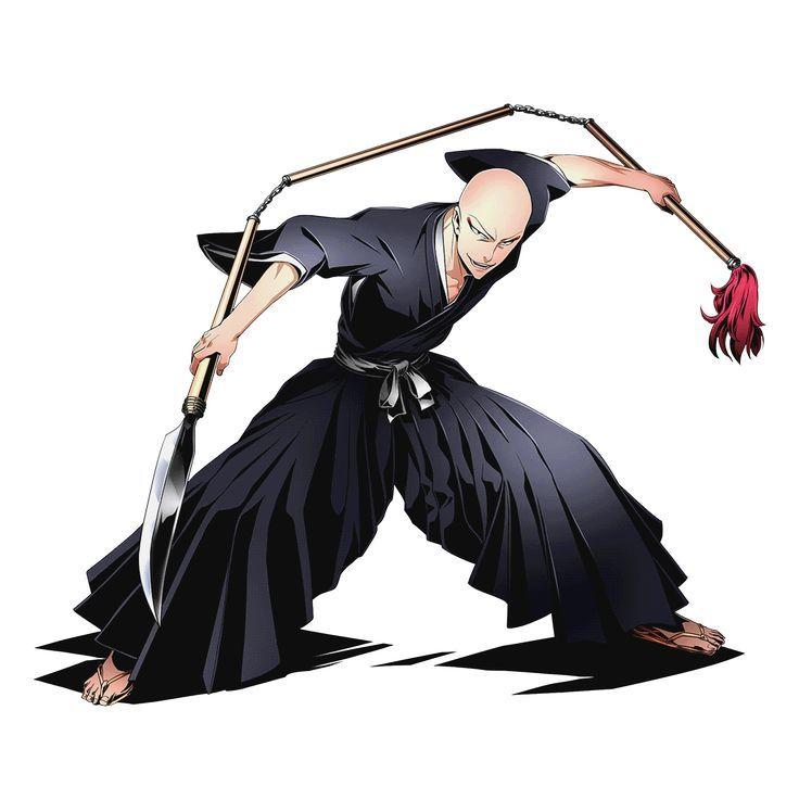Bleach Ikkaku Madarame Bleach Ikkaku Madarame Bleach Characters Bleach Anime Bleach Figures