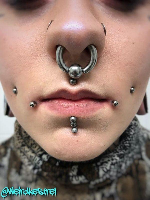 37 Best Jestrum Piercing Ideas For Her Facial Piercings Lip