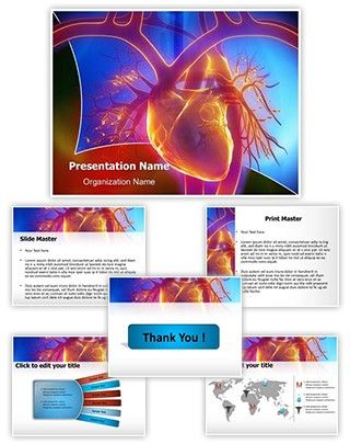 Pulmonary Trunk Vein Powerpoint Template is one of the best PowerPoint templates…