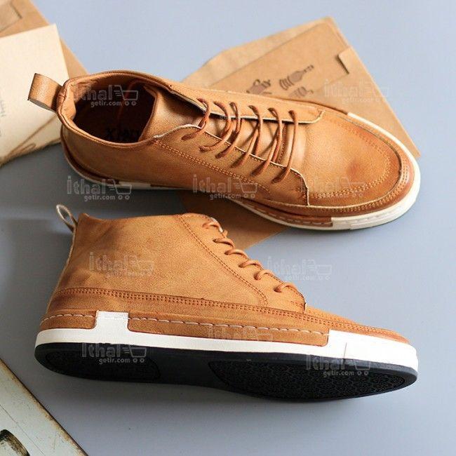 Yüksek Kaliteli Malzemelerden Üretim Moda Erkek Ayakkabı Modelleri - 571582 - 3