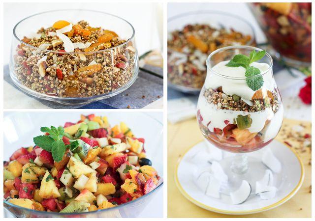 """Grain Free Granola and Fruit Salad – A """"Parfait"""" Combination!"""