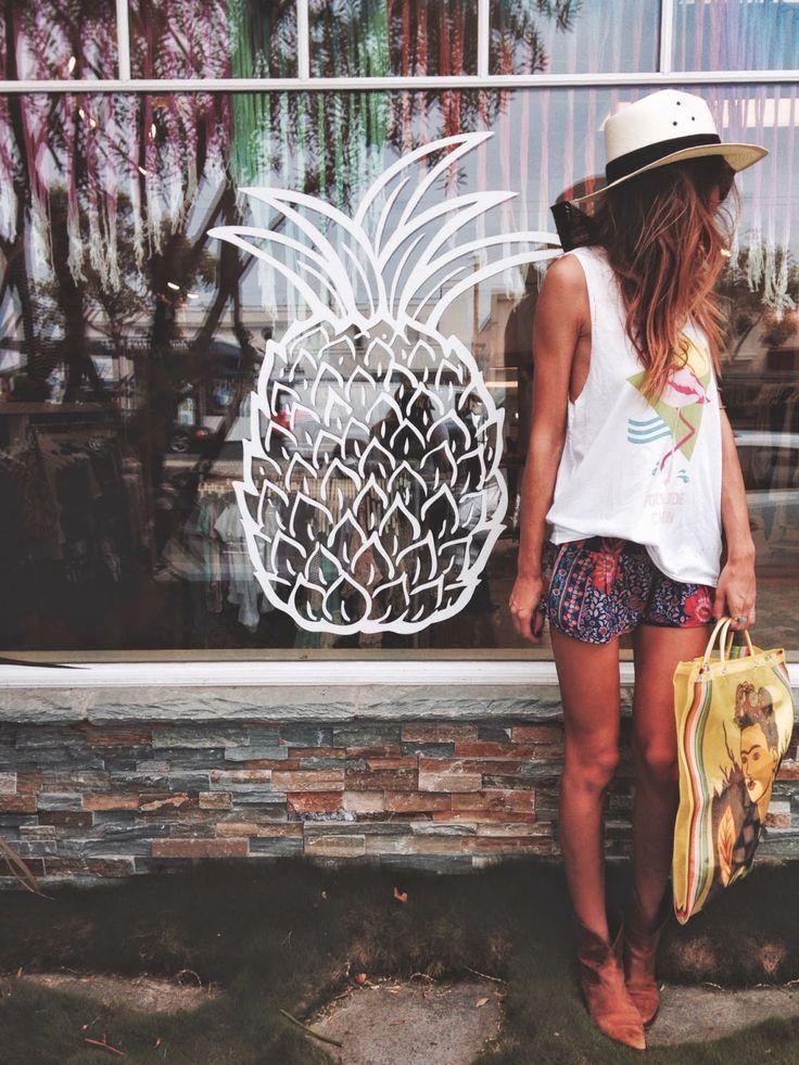 Beach lifestyle fashion