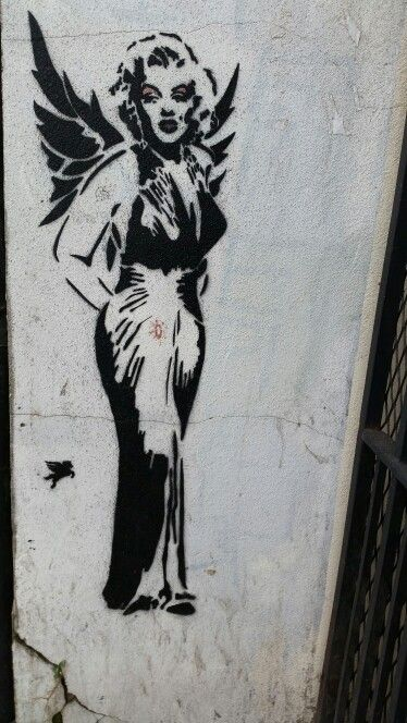 Marilyn Monroe, dans le quartier d'Angel, Londres