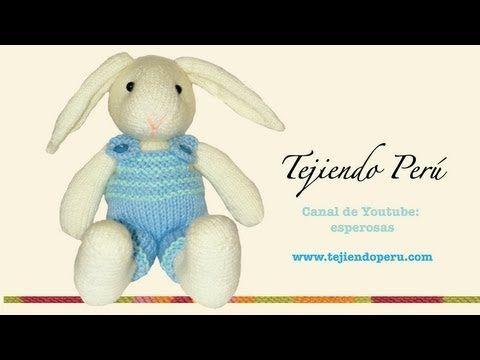 Video 2 de 7 para tejer un conejo amigurumi de agujas (parte del cuerpo)