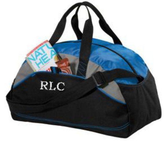Duffel Gym Bag Personalized Groomsmen gift, gymnastics, dance Custom by cre8ivgifts, $15.00