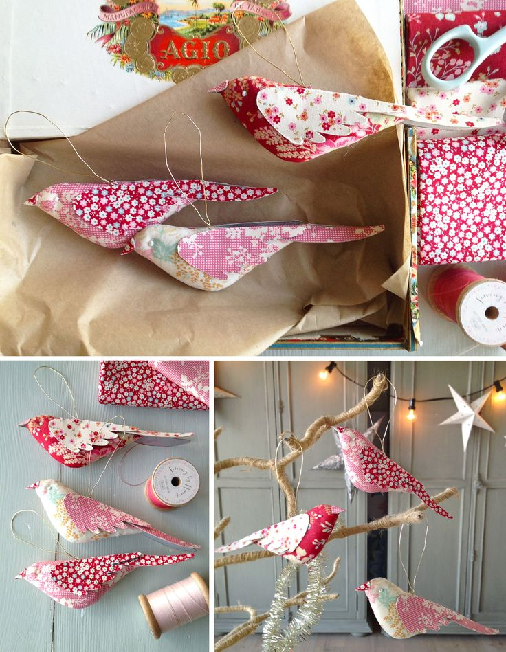 christmas-birds This is a fun, free pattern on the Tilda's World website. Just in time for Christmas 2016!