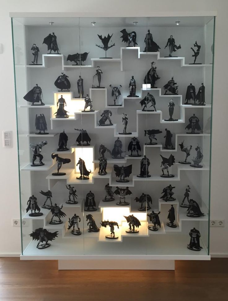 image result for wall to wall toys game comic display collectible rh pinterest com Wall Display Cabinets for Collectibles Display Cases for Collectibles