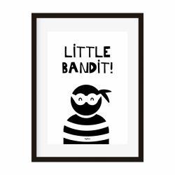Poster A4 Little bandit!