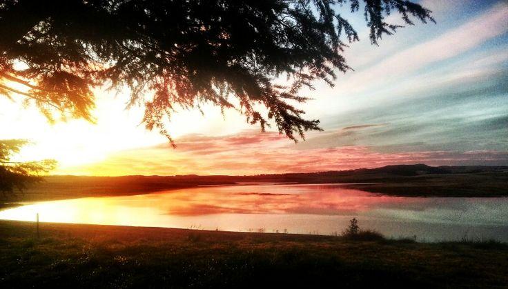 A serene sunrise in Kamberg, KZN, Midlands Meander: www.midlandsmeander.co.za
